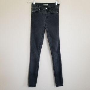 "Madewell 9"" High Riser Skinny Skinny Jeans 27TL"